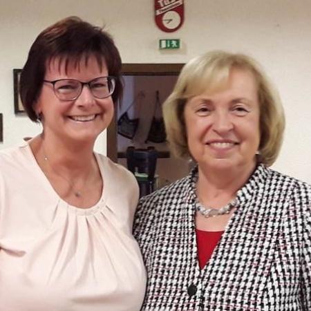CDU Hochdorf-Assenheim Martina Hoffmann und Maria Böhmer