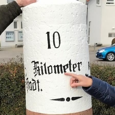 Historischer Kilometerstein, Hochdorf-Assenheim