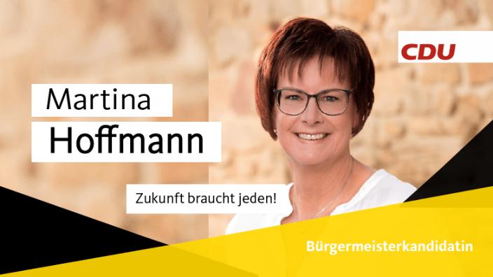 Kandidatenkarte Martina Hoffmann
